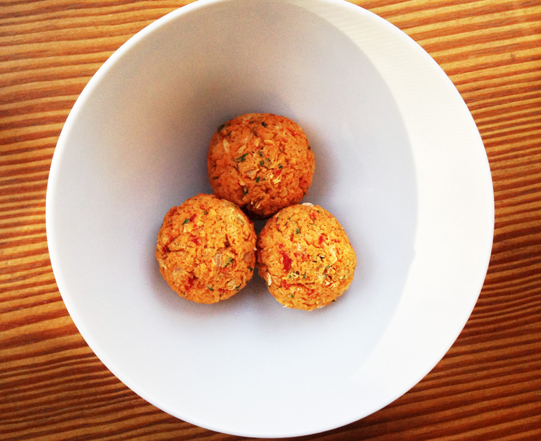 "Vegetarian Cannellini ""Meatballs"" - Chrystie Street EatsChrystie ..."